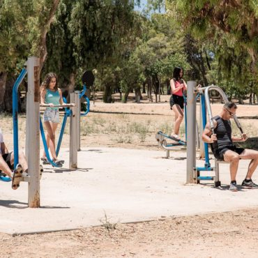 Υπαίθρια όργανα γυμναστικής